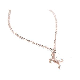 GEMSHINE kvinnors armband Unicorn flicka armband guldpläterad ros eller silver