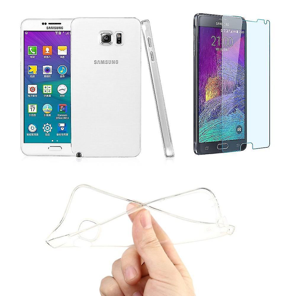 Samsung Galaxy tryk 5 mobil cover taske ultra tynde kun 0,3 mm tilfælde dække beskyttende dække shell + tank glas ægte glas skærm beskyttelse