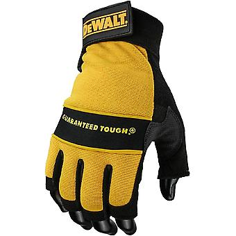 DEWALT Mens DeWalt Tough Performance Fingerless gants