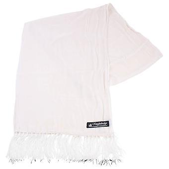 Knightsbridge Neckwear бархат шарф - белый