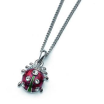 Oliver Weber Pendant Ladybug Mini Rhodium Crystal