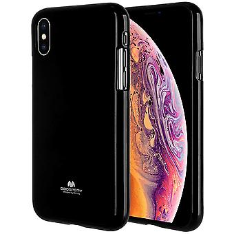 GOOSPERY Pearl Jelly Case iPhone Xs MAX soft TPU shell Black