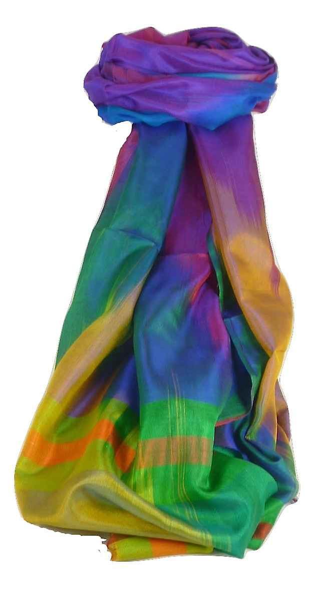 Varanasi Ekal Premium Silk Long Scarf Heritage Range Persad 1 by Pashmina & Silk
