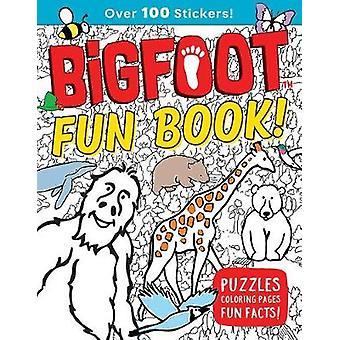 Bigfoot kul bok! -Pussel - målarbilder - roliga fakta! av Bigfoot F