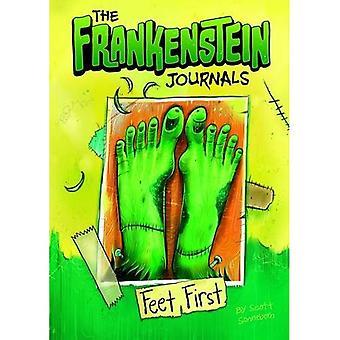 Frankenstein tidsskrifter: Fødder første