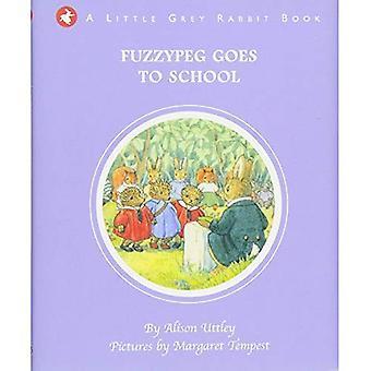 Petit lapin gris: Fuzzypeg va à l'école