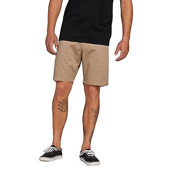 Volcom mænds Stretch Shorts ~ Frickin moderne Stretch 19 khaki