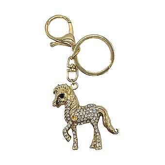 Little Rider Diamante Key Ring