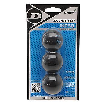 Dunlop Unisex squashbolde