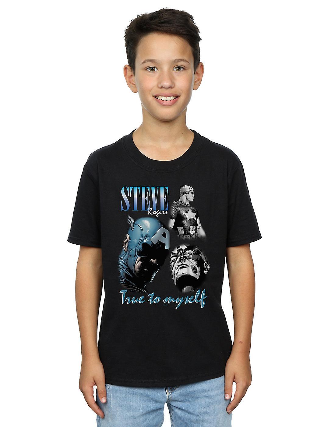 Marvel Boys Steve Rogers Homage T-Shirt