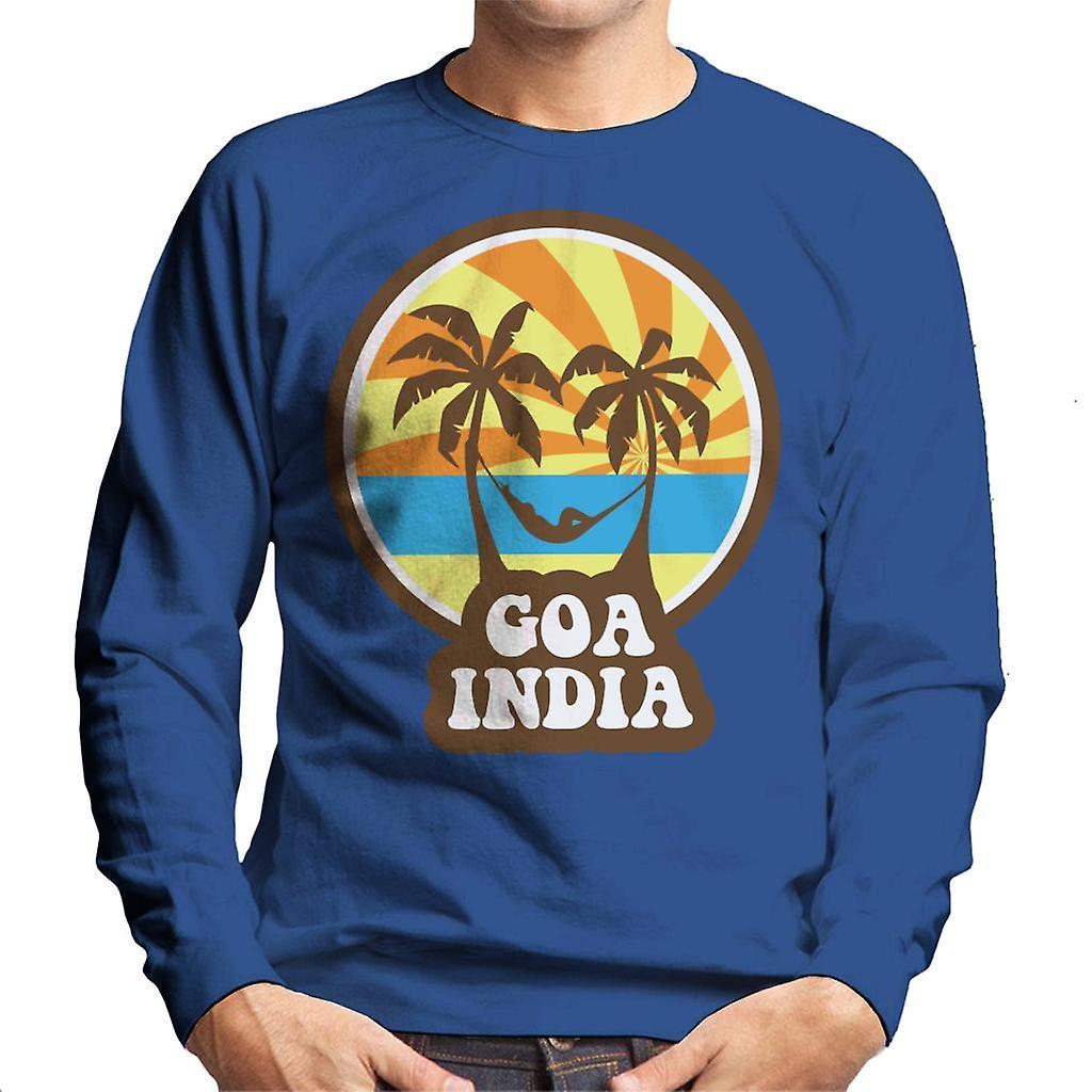 Goa India 70s Style Men S Sweatshirt Fruugo
