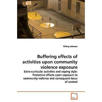 Buffering effects of activities upon  community violence exposure by Johnson & Tiffany