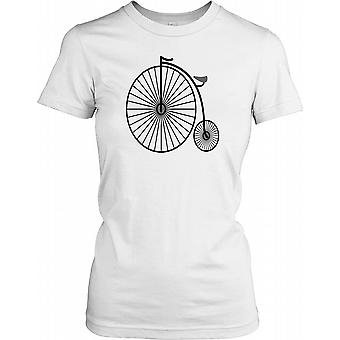 Penny Farthing bicicletta Ladies T Shirt