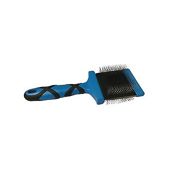 Groom Professional Double Sided Flexible Slicker Grooming Brush