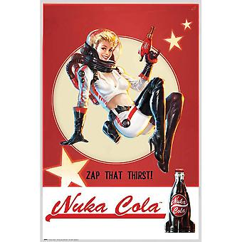 Fallout officiële Nuka Cola poster