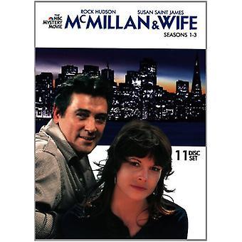 McMillan & Wife: Seasons 1-3 [DVD] USA import