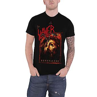 Slayer T Shirt Repentless cover band logo new mens black official