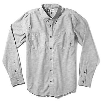 Lrg Desmond Long Sleeve Chambray Woven Shirt Ash