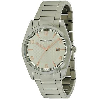 Kenneth Kole New York Stainless Steel Mens Watch 10031329