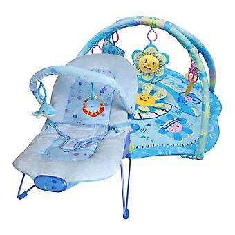 LaDiDa Babysitter and Baby gym Blue Little Star package Offer