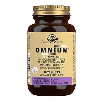 Tablety solgar Omnium 30 (2065)