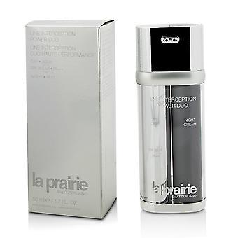 La Prairie lijn interceptie Power Duo - Day Cream SPF30 PA +++ & nacht crème 2x25ml/0,85 oz