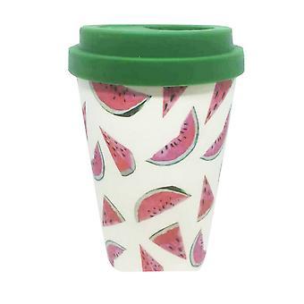 Bamboo Eco Watermelon Travel Mug