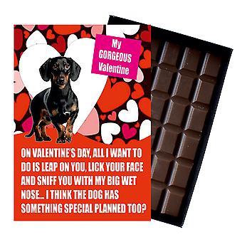 Dachshund Funny Valentines Day Gift