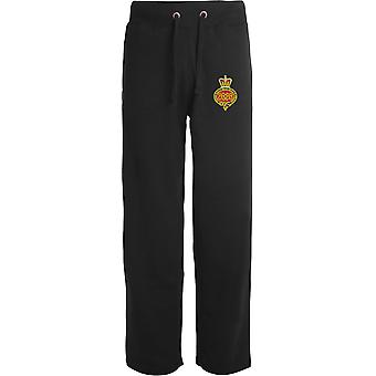 Grenadier Guards - Licensed British Army Embroidered Open Hem Sweatpants / Jogging Bottoms