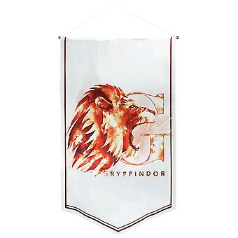 Harry Potter Gryffindor Watercolour Satin Banner