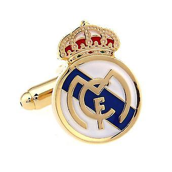 Real Madrid Football Sports Cufflinks Novelty Wedding Birthday Gift Los Blancos