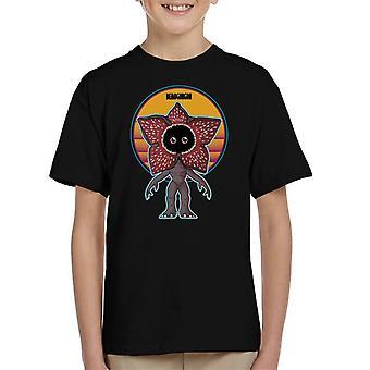 Stranger Things Cute Demogorgon Kid's T-Shirt
