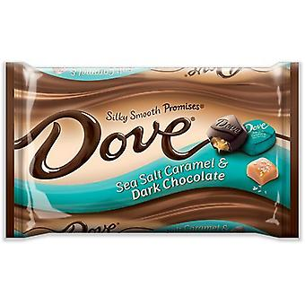 Dove Sea Salt karamell silkeglatt løfter Dark Chocolate Candy