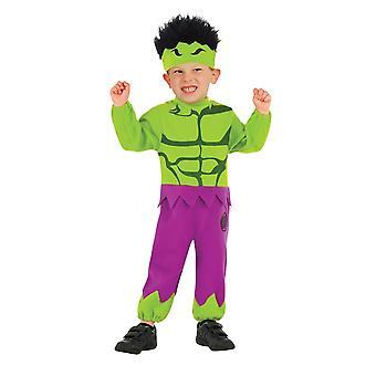 Hulk Toddler Costume