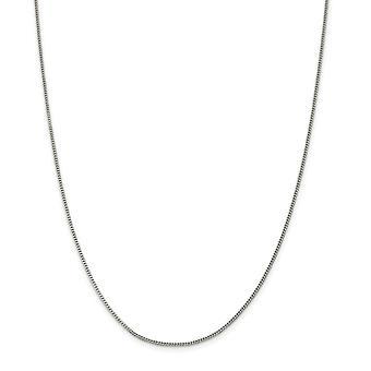 925 ασημένια 1.5 mm δώρα κοσμήματος βραχιολιών αστραγάλων αλυσίδων συγκρατήσεων για τις γυναίκες-μήκος: 7 έως 10