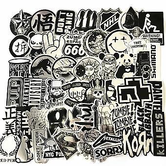 50x Stickers, Metal #2