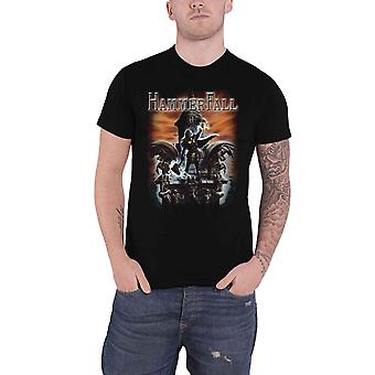 Hammerfall T Shirt Built To Last Band Logo new Official Mens Black