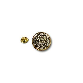 Pine Pines PIN badge PIN-apos; s metal biker biker flag segl Templar