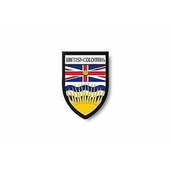 Patch Ecusson Termocollant Brode Flag Prints Canada British Columbia