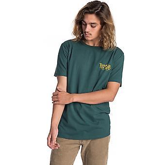 Rip Curl cartoon korte mouw T-shirt in bosgroen