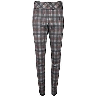 Up! Grey Check Up! Pull On Trousers