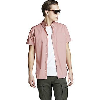Chemise à manches courtes Jack et Jones Jones Rosette Pink 76