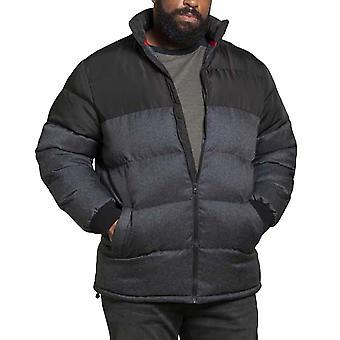 Duke D555 Mens Big Tall Kingsize Ashby Padded Winter Jacket - Black