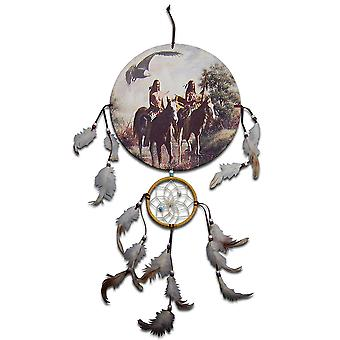 Indian Chiefs and Horses Dreamcatcher