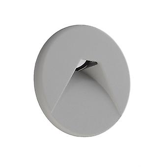 Cover silver-grey round for Light Base COB Indoor
