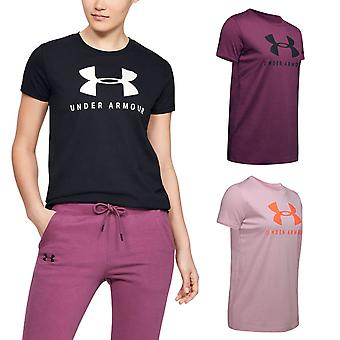 Under Armour Womens Graphic Sportstyle Classic Crew T-Shirt