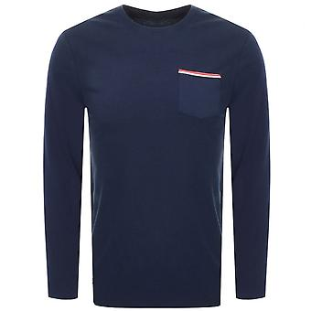 Lacoste Lacoste Lounge Long Sleeve Crew Homme T-Shirt