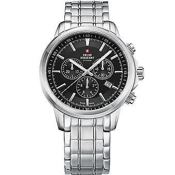 Swiss Military SM34052.01 Chronograph Sapphire 42mm 10 ATM
