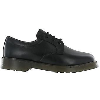 Grafters Mens glad lederen Uniform schoenen