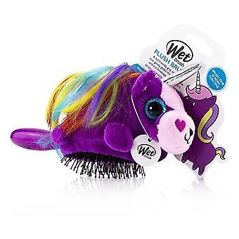 Våt børste plysj børste-# Unicorn stk.